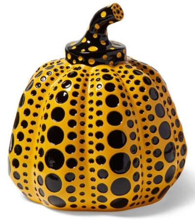 Yayoi Kusama, 'Pumpkin (Yellow & Black)', 2020