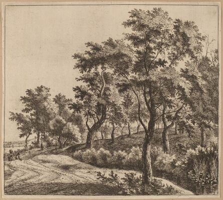 Jan Hackaert, 'Landscape with a Stream'