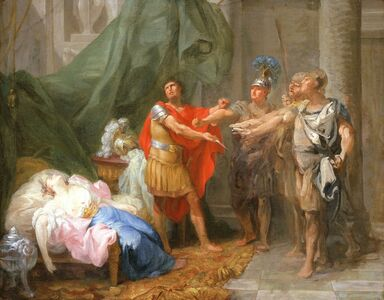 Jacques-Antoine Beaufort, 'The Oath of Brutus', ca. 1771