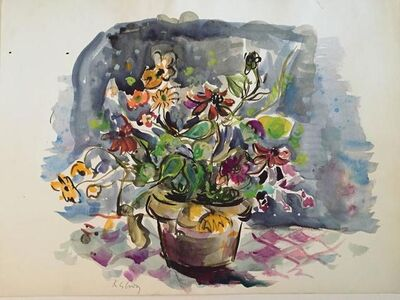 Katherine Librowicz, 'Flowers in a Pot', 20th Century