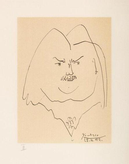 Pablo Picasso, 'Balzac en Bas Casse et Picassos sans majuscule (eight works)', 1957