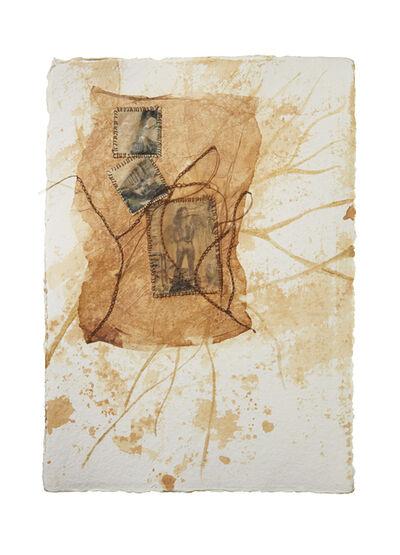 Enam Gbewonyo, 'Notes on Paper, Captured Sorrow II', 2021