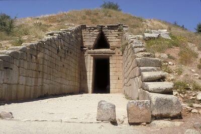 'The Treasury of Atreus (Tomb of Agamemnon)', ca. 1350-1250 B.C.