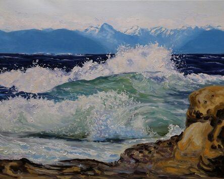 Terrill Welch, 'Wild Seas', 2021
