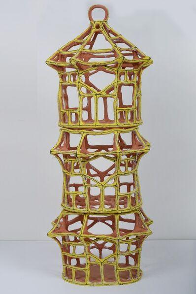 Elisabeth Kley, 'Large Yellow Pavilion Birdcage', 2014