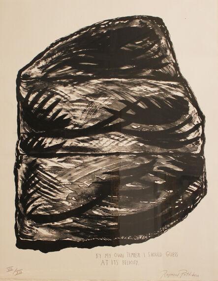 Raymond Pettibon, 'Untitled (By My Own Temper)', ca. 2000