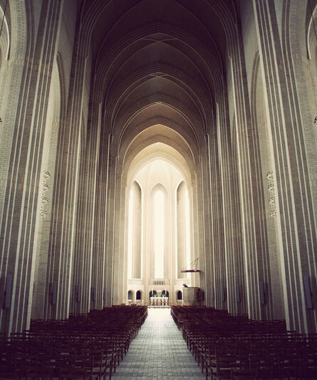 Kim Holtermand, 'Grundtvigs Church: The Aisle', 2020
