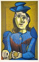 Pablo Picasso, 'Femme Assise (Dora Maar)', 1955