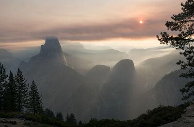 LUCA MARZIALE, 'The Glacier Point, Yosemite, 2017', 2020