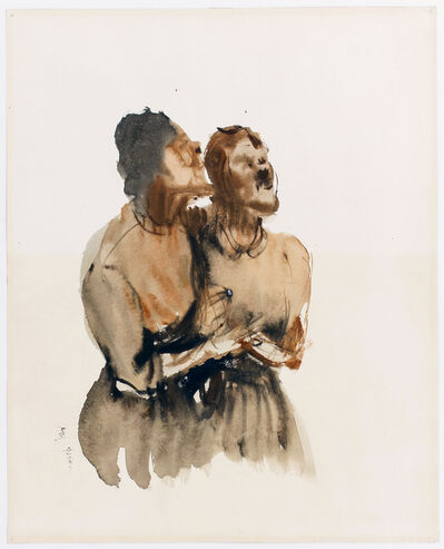 Ryo Hirano, 'Two Women', Unknown