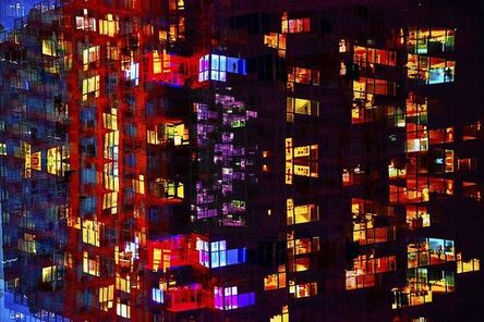 Young Sam Kim, 'City's Kaleidoscope', 2017