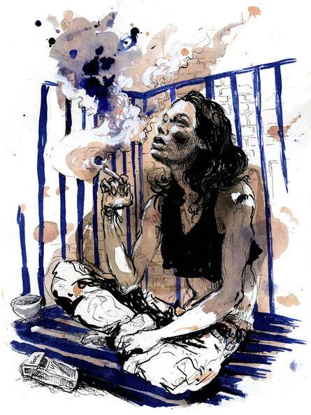 Molly Crabapple, 'STOYA', 2014