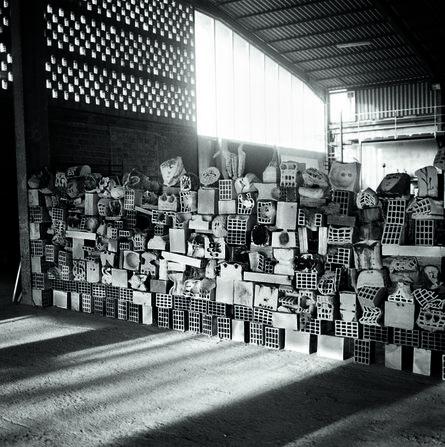 Miquel Barceló, 'Grand Mur de Têtes', 2015