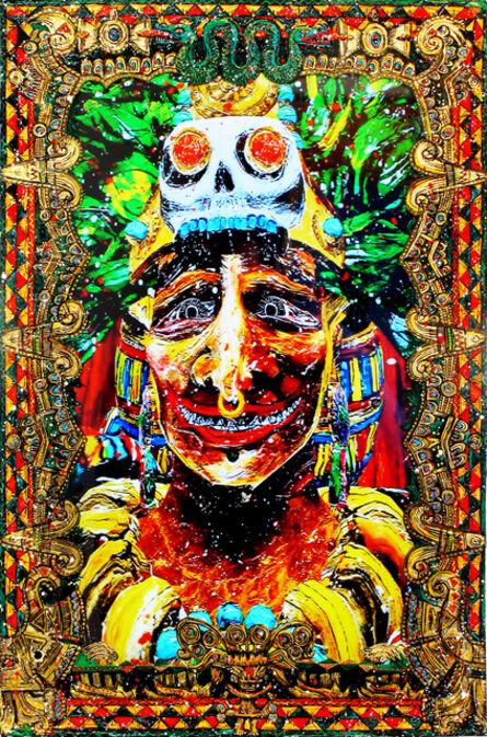 Federico Solmi, 'His Angry Lord (Montezuma – Aztec)', 2015