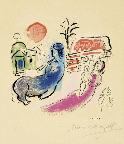 Marc Chagall, 'Maternité au Centaur  (Mourlot 195)', 1957