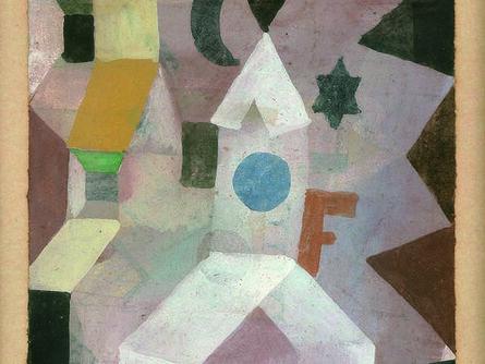 Paul Klee, 'Die Kapelle (The Chapel)', 1917