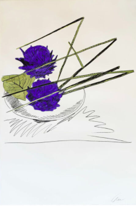 Andy Warhol, 'Flowers (Hand-Colored) II.116 (97/250)', 1974