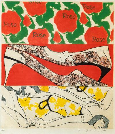 Masuo Ikeda, 'Rose is Rose', 1966
