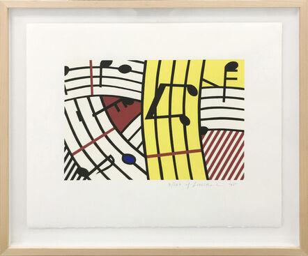 Roy Lichtenstein, 'COMPOSITION IV (C. 293)', 1995