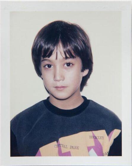 Andy Warhol, 'Andy Warhol, Polaroid Photograph of Sean Lennon, 1985', 1985