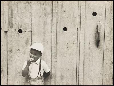 German Lorca, 'Eating Apple, 1953', vintage