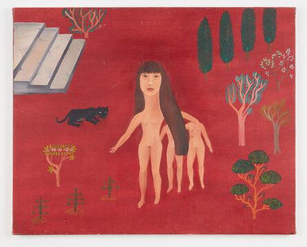 Cecilia Vicuña, 'Pantera Negra y yo (ii)', 1978