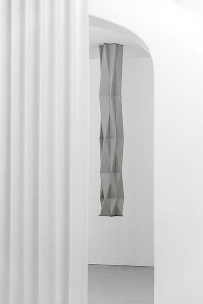 Francisco Rozas, 'Untitled, 2018, paper, wood, 200 x  Ø 38 cm ', 2018