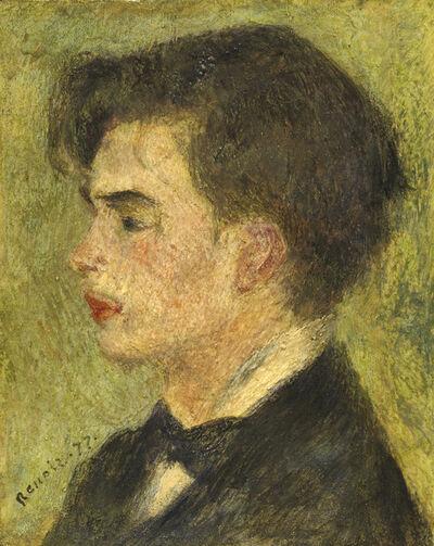 Pierre-Auguste Renoir, 'Georges Rivière', 1877