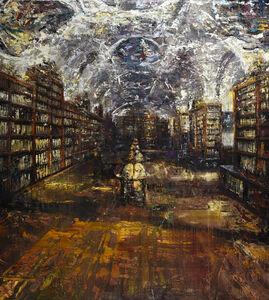Massimo Giannoni, 'Biblioteca', 2019