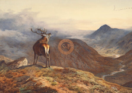Sir Archibald Thorburn, FSZ, 'Voices Of The Forest', 21st Century