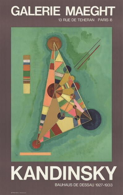 Wassily Kandinsky, 'Bauhaus', 1985