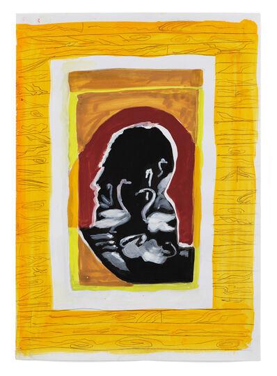 Allison Katz, 'Swans (Ruthless)', 2010