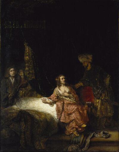 Rembrandt van Rijn, 'Joseph and Potiphar's Wife', 1655