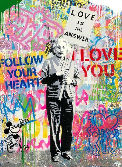 Mr. Brainwash, 'Einstein ', 2020