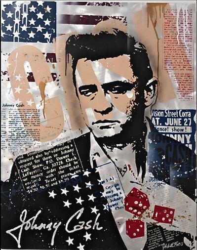 Michel Friess, 'Johnny Cash', 2013