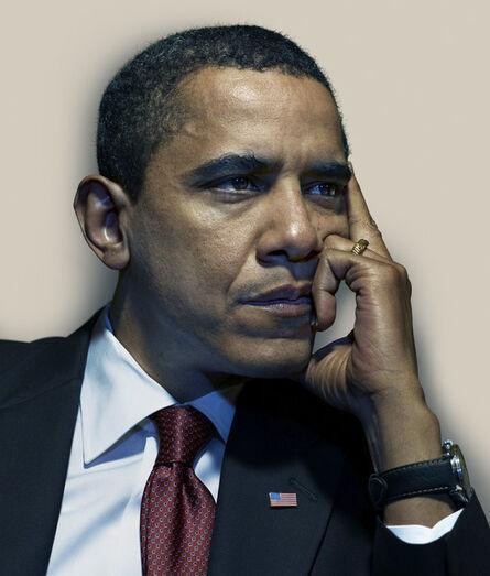 Nadav Kander, 'Barack Obama II', 2009