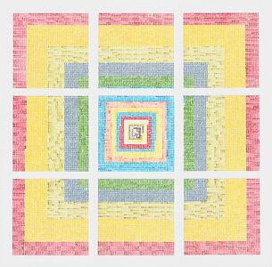 Jennifer Losch Bartlett, 'Fibonacci, 1-10', 2010