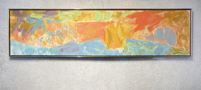 Friedel Dzubas, 'Beyond Blue', 1988