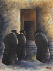 Ottone Rosai, 'Tre preti', 1936