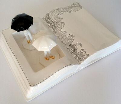 Sônia Menna Barreto, 'Raining book'