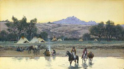 Henry F. Farny, 'The Crossing ', 1908