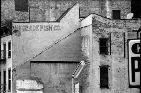 David Vestal, 'Fulton & Pearl Streets, NY', August-1964