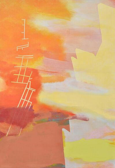 Aki YAMAMOTO, 'Both side of the Sky - orange', 2014