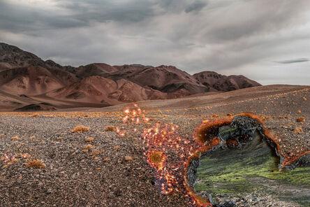 Ingrid Weyland, 'Eye of Fire II - Topographies of Fragility', 2021
