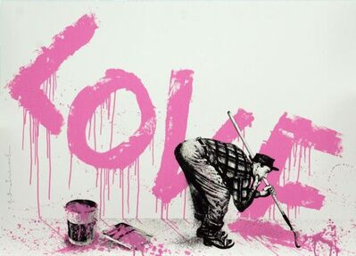 Mr. Brainwash, 'All You Need Is Love (Pink)', 2018