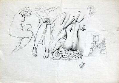Franciszek Starowieyski, 'Pop Dor', 1970-2000