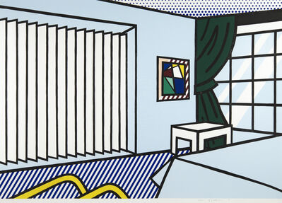 Roy Lichtenstein, 'Bedroom', 1990