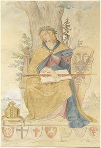 Philipp Veit, 'Germania', 1833/1836