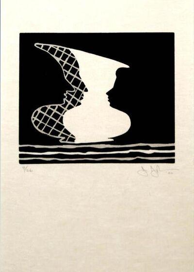 Jasper Johns, 'Jasper Johns - Sun on Six', 2000
