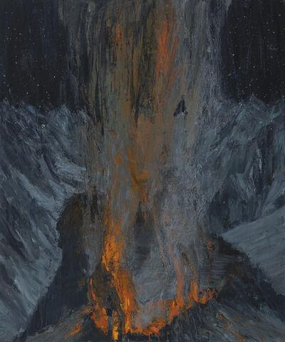 Euan Macleod, 'Night campfire', 2020